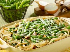 Did you know Silk® has a ton of tasty recipes, like  this one for Green Bean and Mushroom Casserole? http://www.drinksilk.ca/recipes/green-bean-and-mushroom-casserole