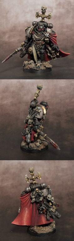 Black Templars High Marshall Helbrecht