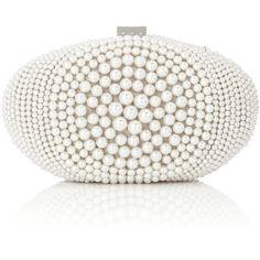 Paloma Pearl Clutch found on Polyvore A must for the Pearl Girl Like Me