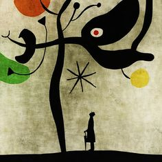 Toni Demuro                                        guess that this art is inspired by Joan Miro; awesome as it is.