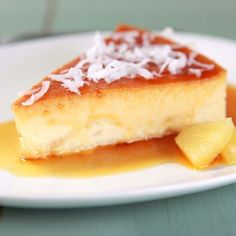 Vanilla Flan, Caramel Flan, Chocolate and more. Our collection of Flan Recipes featuring your favorite Nestlé brands are easy and delicious! Flan Dessert, Flan Cake, Recipe For Flan, Coconut Flan, Toasted Coconut, Just Desserts, Delicious Desserts, Gastronomia, Puddings