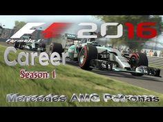 F1 2016 Career Mode - ( Abu Dhabi ) Mercedes AMG Petronas