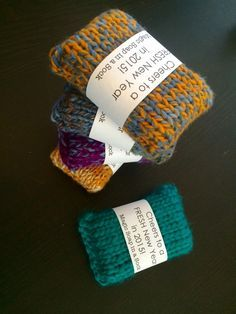 Soap sock pattern with pictures. This would make a nice, quick gift!