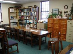 Botetourt County Library Genealogy Room