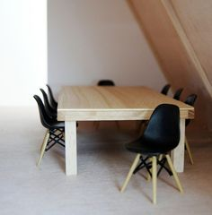 dollhouse size eames chairs. by deboraarantes
