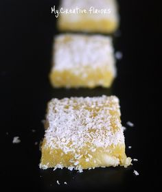Coconut Chickpea Bars or Besan ki Burfi