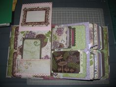 Based on Laura Denison's design of Stack the Deck with Pockets Mini Album.