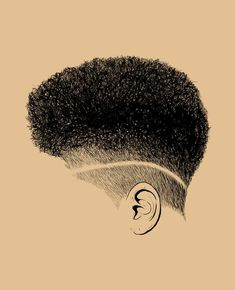 28 Top Pompadour Haircuts for Men Trends) - Style My Hairs Natural Hair Short Cuts, Natural Hair Art, Natural Hair Styles, Black Girl Art, Black Women Art, Black Art, Black Girls, Black Men Haircuts, Black Men Hairstyles