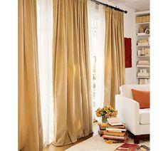Curtainworks Messina Opulent Velvet Lined Drapery