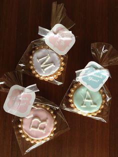 Monogram cookies!