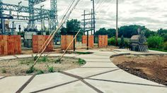 "Alaina Shonkwiler på Twitter: ""Progress on the Pocket Park! Landscape goes in…"