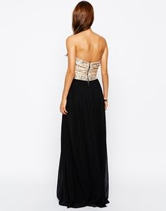 Enlarge Rare Lace Bust Maxi Dress