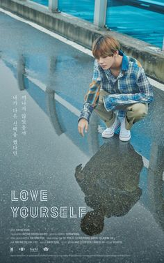 V! ❤ LOVE YOURSELF Poster! (ㅏ브 ㅣㅣ) #LOVE_YOURSELF #BTS #방탄소년단