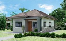 Small bungalow house plans in india modern bungalow house design with three alahna s surf lodge 1 bungalows for 2 bedroom bungalow house design consider this bungalow to be your. Simple Bungalow House Designs, Craftsman Bungalow House Plans, Bungalow Haus Design, Simple House Design, Small Bungalow, 2 Bedroom House Design, House Floor Design, Bedroom House Plans, Bungalows