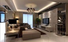 Luxury Bedroom Design, Bedroom Bed Design, Home Room Design, House Ceiling Design, Ceiling Design Living Room, Living Room Designs, Hall Interior, Living Room Interior, Interior Design
