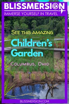 There so many fun things to do in Columbus Ohio with kids. One of my favorites is visiting the Franklin Park Conservatory and Botanical Garden . Head over to the Franklin Park Conservatory Children's Garden & the family will have a great time! The Children's Garden was designed especially for kids. #columbusohio #travelwithkids Columbus Travel, Columbus Ohio, Franklin Park Conservatory, Travel With Kids, Botanical Gardens, Fun Things, North America, Have Fun, Children