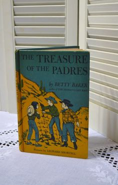 Vintage Childrens Book The Treasure of the Padres by PanchosPorch