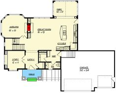 Plan 73286HS: Craftsman Detailing With Alternate Versions