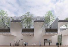 13 Designs Given Honorable Mentions for Lima Art Museum (MALI) Expansion Competition,COMUNALIDAD / OB+RA + Llosa Cortegana. Image Courtesy of Museo de Arte de Lima (MALI)