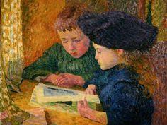 Reading and Art: Giovanni Giacometti