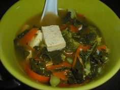 Vegan Recipe Review: Healing Miso Soup with Garlic and Ginger