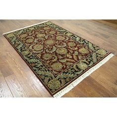 Manhattan Hand-knotted Rajasthan Area Rug