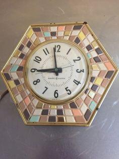 Vintage General Electric Clock GE Mid by PineStreetPickers