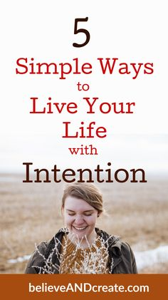 If you want to live a happier, more fulfilling life, you need to start living with intention. Learn 5 simple ways to live more intentionally every day. Self Development, Personal Development, Marriage Relationship, Marriage Advice, Relationships, Transform Your Life, Live Your Life, Life Purpose, Positive Mindset