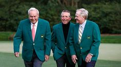 Arnold Palmer (9/10/29-9/25/16), Gary Player and Jack Nicklaus