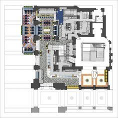 Gallery of Motta Milano 1928 / Collidanielarchitetto - 6 Restaurant Design, Restaurant Bar, Seafood Store, Motto, Interior Architecture, Floor Plans, Layout, Italy, How To Plan