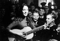 Joan Baez in 1963