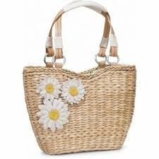 Image result for brighton daisy straw tote