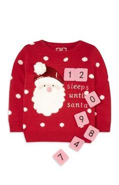 Weihnachtspullover (kleine Mädchen)