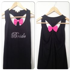 Bow Tank Top / Bride Tank Top / Bridesmaid by BridalBlissCouture, $19.95