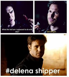 Even Alaric thought Damon should get the girl he was totally a #stelenashipper before he ummm died. Lol.. that says something.