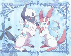 Absol and Sylveon
