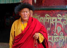 Travel Tibet The thoughts of a Buddhist prayer, Tibet by reurinkjan, via Flickr