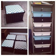 DIY classroom decor. Crate benches and spray painted storage cart! Easy and affordable