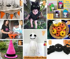 Share this:  Halloween Round up – 8 Free crochet patterns   These patterns are sure to add some sweetness to your Halloween!   You can find more things like this under the category Round Ups     This page contains affiliate links   1. Halloween Party Banner by Kara Gunza   2. Black Kitty Cat …