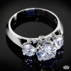*Diamond Engagement Ring*    http://www.whiteflash.com/gallery/three-stone-engagement-rings/custom-3-stone-diamond-engagement-ring-11403.htm
