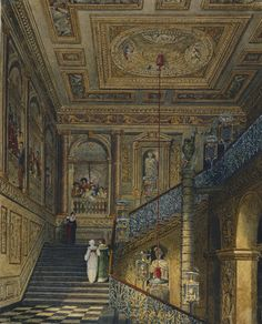 Kensington Palace: The Great Staircase