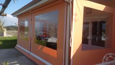 toldo cortina con ventana de Toldos Gómez.