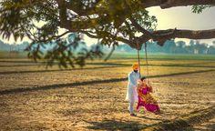 Wedding Photoshoot, Wedding Shoot, Wedding Couples, Cute Couples, Punjabi Wedding Couple, Punjabi Couple, Romantic Pictures, Punjabi Suits, Couple Photography