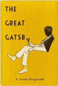 The Great Gatsby.  (via Book Cover Designs / vintage gatsby cover)