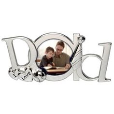 I Love D-a-d Letters Photoframe  http://www.treathim.com/product/dad_photoframe