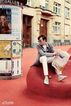 Nichkhun for Allure Korea Thai Prince, Kim Young Kwang, Sung Joon, Jun K, Taecyeon, Brown Eyed Girls, K Pop Star, Woo Young, Block B