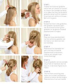 stap voor stap heel mooi haar maken