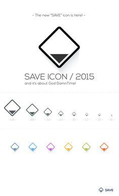 SAVE ICON The new Save IconDownlad:http://adobe.ly/1iZUACd