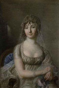 Portrait presume de Rosalie Bersonnet by Jean Francois Bosio | Blouin Art Sales Index, Pastel on paper, 81.28x55.88, Tajan Paris, 20 Dec 2006, $1977.