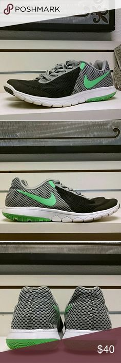 Nike Flex RN Experience 6 No noticeable wear. Very cool shoes. I bought these from another posher, but too big on me. They DO say they're size 7, BUT please note: these definitely run large. Fit like a 7 1/2. Nike Shoes Sneakers